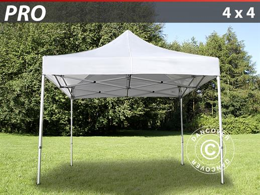 Pop-up Havepavillon 4 x 4 Aluminium